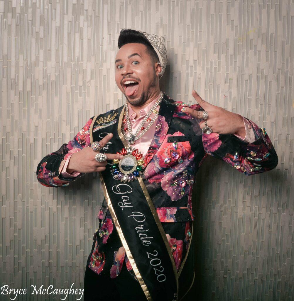 Monroe DeMoore | Photo by Bryce McCaughey | Miss Ohio Gay Pride | Axis Nightclub (Columbus, Ohio) | 11/9 - 11/10/2019