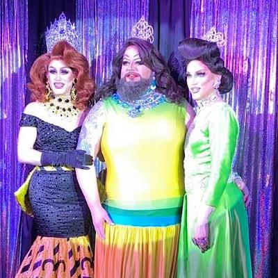 SMALL Soy Queen, Miranda Michaels and Mimi Sharp | Miss Gay Columbus Ohio | Boscoe's (Columbus, Ohio) | 1/25/2020