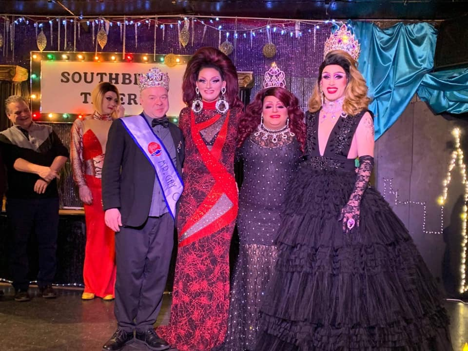 Joey Fleming, Sheridan Steele, Stacy Z Candy and Soy Queen | Miss Gay Paramount Ohio | Southbend Tavern (Columbus, Ohio) | 1/19/2020