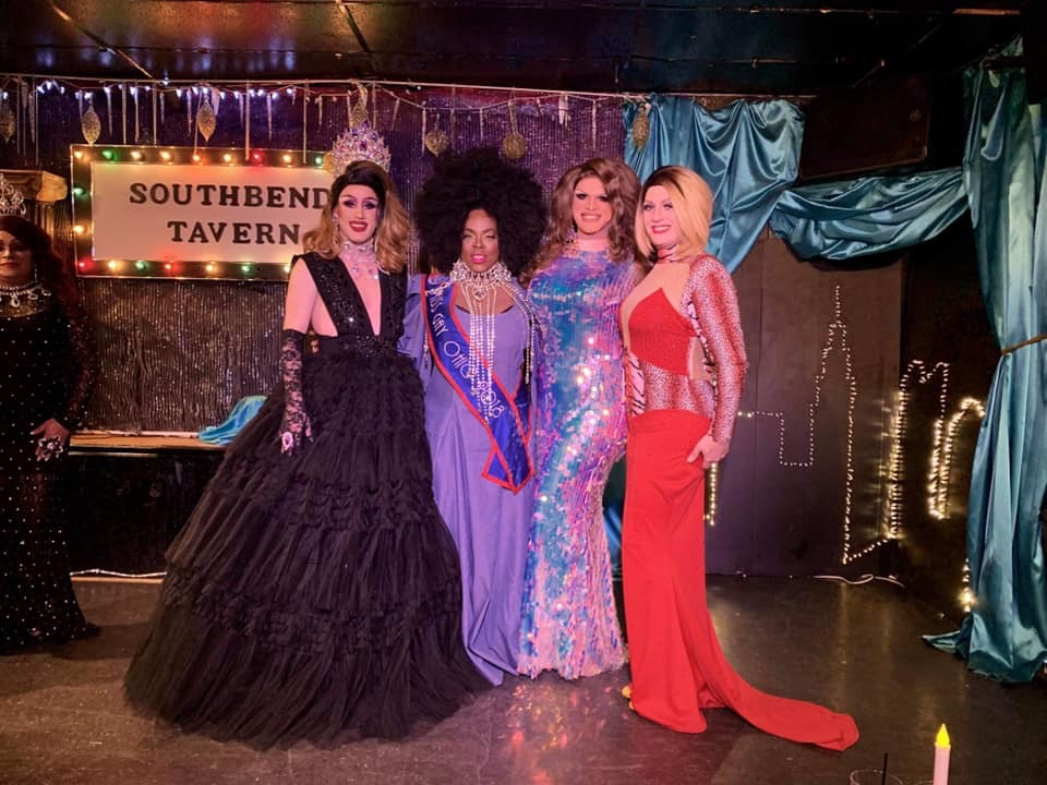 Soy Queen, Mikayla Denise, Ava Aurora Foxx and Britney Blaire | Miss Gay Paramount Ohio | Southbend Tavern (Columbus, Ohio) | 1/19/2020