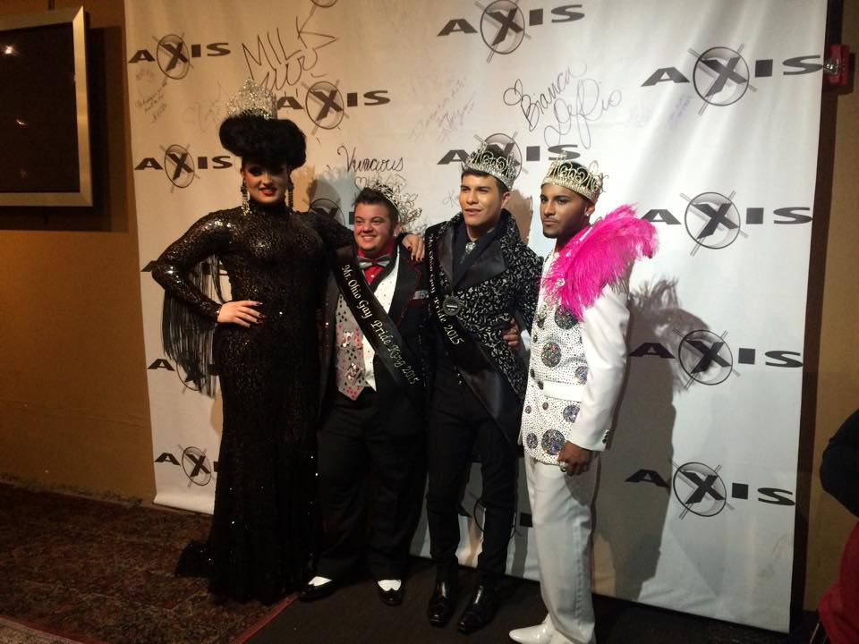 Ashley Austin Ferrah, Ty Erup, Rex Matthews and Izaya Cole | Mr. Ohio Gay Pride | Axis Nightclub (Columbus, Ohio) | 10/5/2014