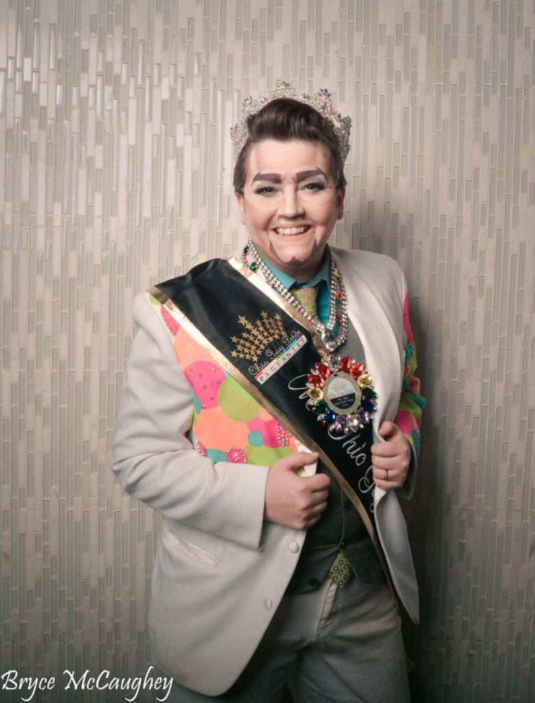 Stevie Phoenix | Photo by Bryce McCaughey | Miss Ohio Gay Pride | Axis Nightclub (Columbus, Ohio) | 11/9 - 11/10/2019