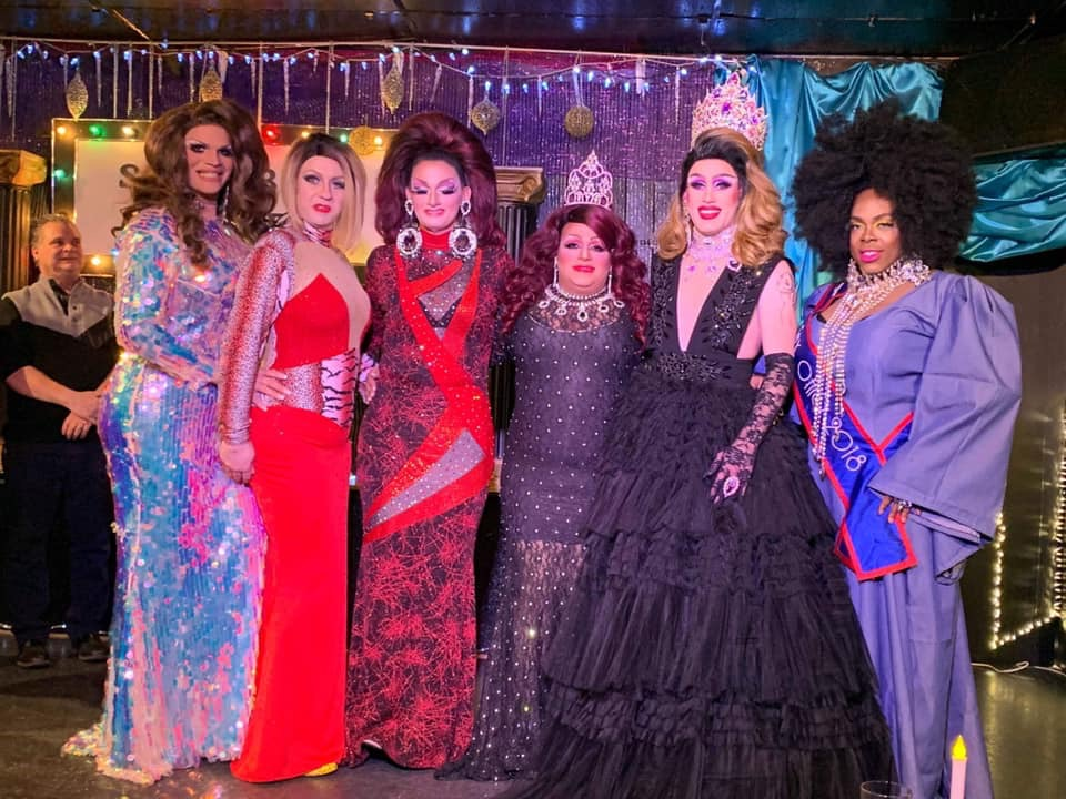Ava Aurora Foxx, Britney Blaire, Sheridan Steele, Stacy Z Candy, Soy Queen and Mikayla Denise | Miss Gay Paramount Ohio | Southbend Tavern (Columbus, Ohio) | 1/19/2020