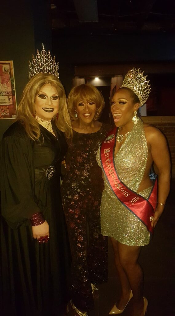 Misty Phoenix St. James, Misty Knight and Bionka Simone | Miss Gay Ohio United States | A.W.O.L. (Columbus, Ohio) | 1/21-1/22/2017