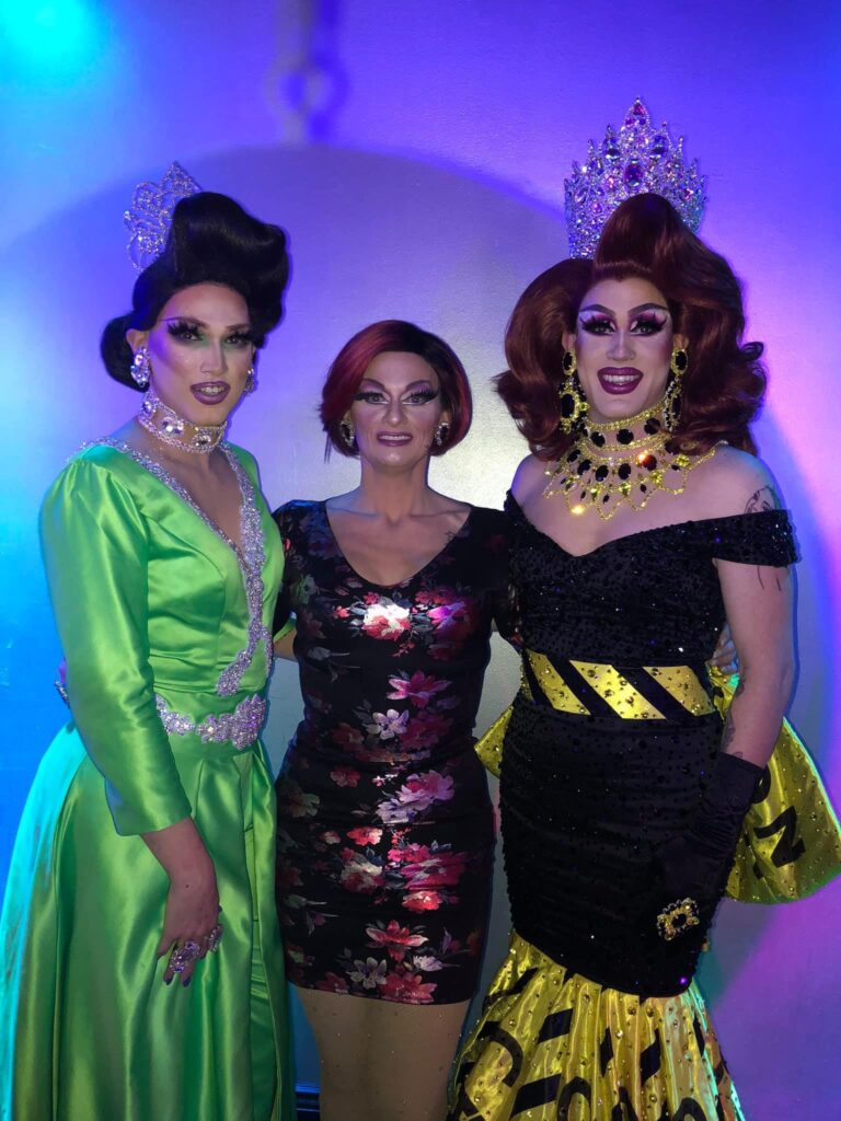 Mimi Sharp, Sheridan Steele and Soy Queen | Miss Gay Columbus Ohio | Boscoe's (Columbus, Ohio) | 1/25/2020