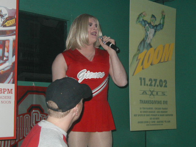 Freeta Lay | OSU Michigan Pep Rally | Union Station Video Cafe (Columbus, Ohio) | 11/23/2002