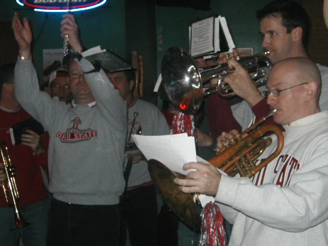 OSU Michigan Pep Rally | Union Station Video Cafe (Columbus, Ohio) | 11/23/2002