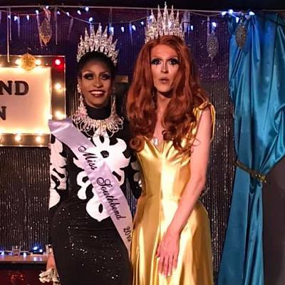 SMALL Sabrina Caprice Heartt and Mimi Sharp | Miss Southbend | Southbend Tavern (Columbus, Ohio) | 1/27/2019