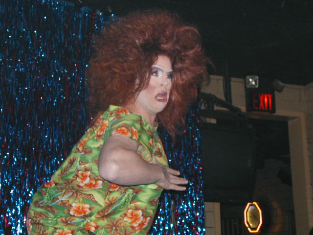 Nina West | Snow Bunnies Show | Havana Video Lounge (Columbus, Ohio) | 1/23/2003