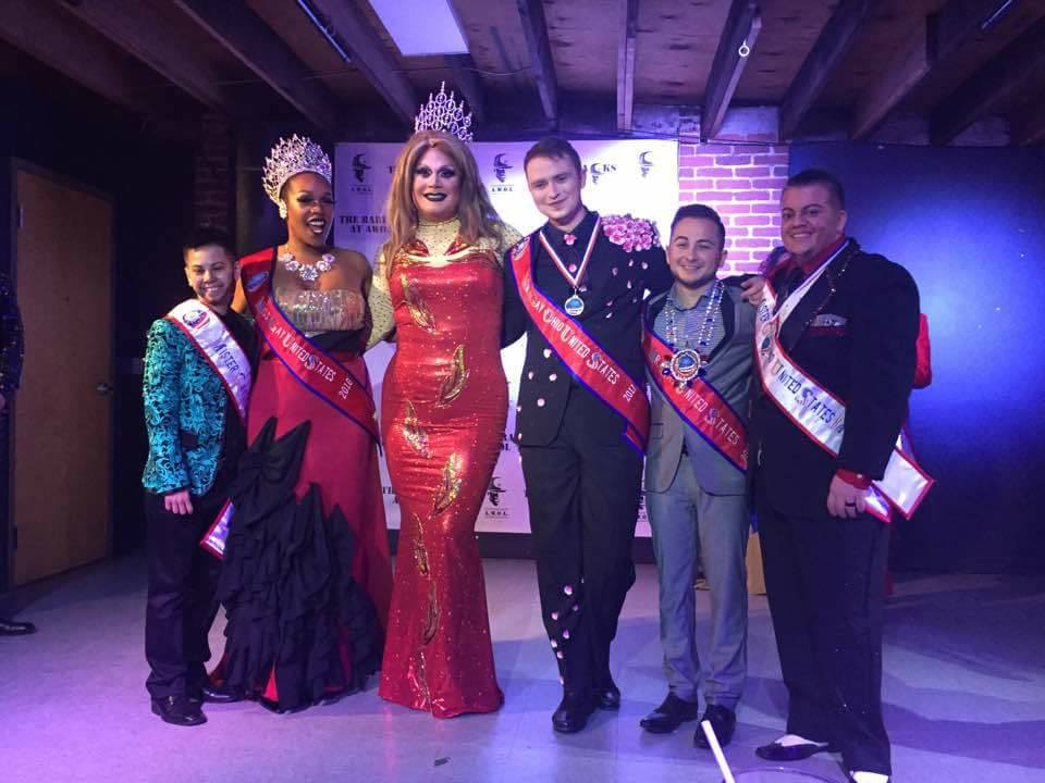 Jayden Jamison Knight-Addams St. James, Bionka Simone, Misty Phoenix St. James, Sorin Knights, GioVanni Stratton VanMykuls and Ty Erup | Gay Ohio United States Pageant | A.W.O.L. (Columbus, Ohio) | 1/21-1/22/2017