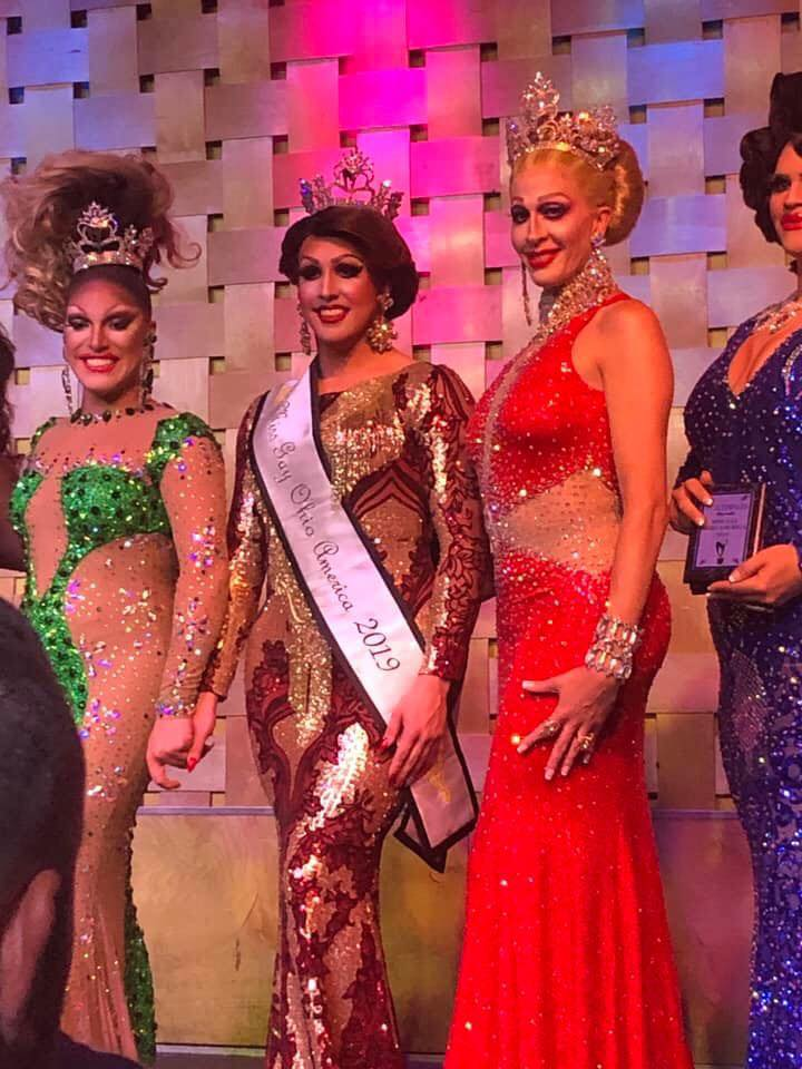 Valerie Valentino, Courtney Kelly and Andora Te'Tee | Miss Gay Ohio America | Axis Nightclub (Columbus, Ohio) | 7/19-7/21/2019