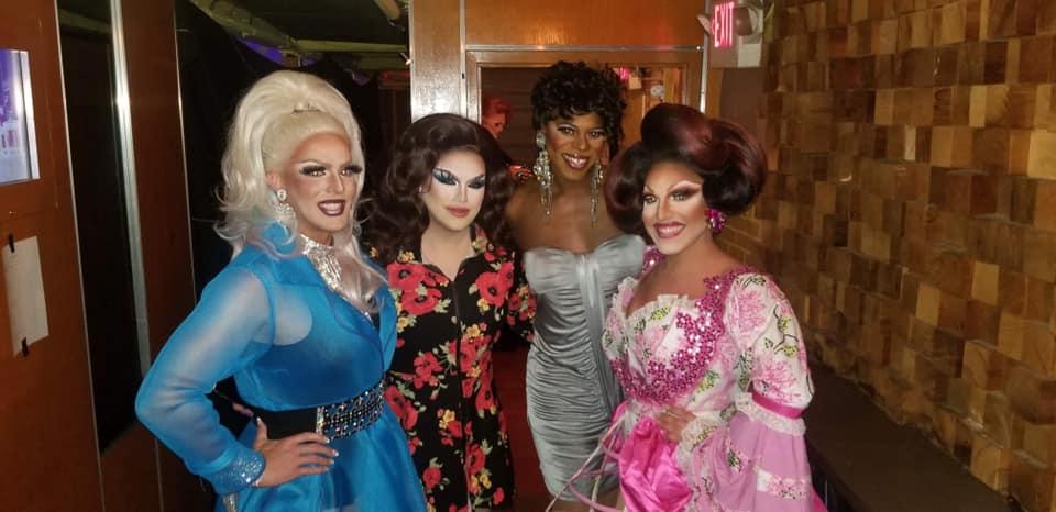 Valerie Taylor, Selena T. West, Jade' and Valerie Valentino | Miss Gay Ohio America | Axis Nightclub (Columbus, Ohio) | 7/19-7/21/2019