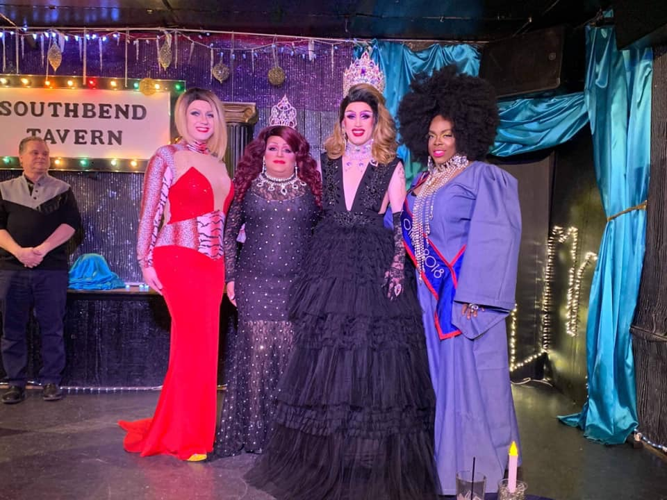 Britney Blaire, Stacy Z Candy, Soy Queen and Mikayla Denise | Miss Gay Paramount Ohio | Southbend Tavern (Columbus, Ohio) | 1/19/2020