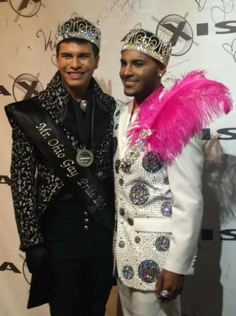 Rex Matthews and Izaya Cole | Mr. Ohio Gay Pride | Axis Nightclub (Columbus, Ohio) | 10/5/2014