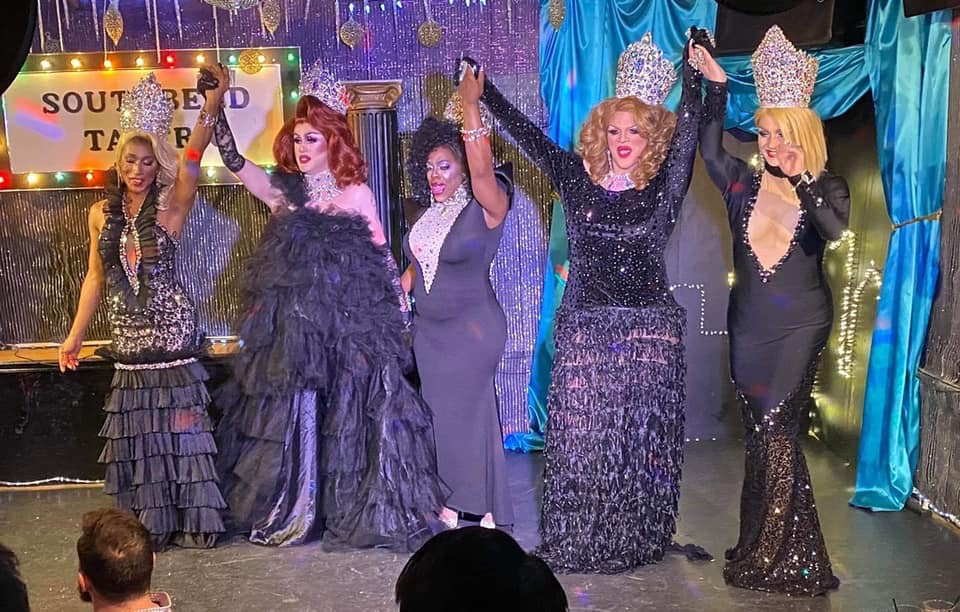 Nadia Nyce, Soy Queen, Mikayla Denise, Ava Aurora Foxx and Britney Blaire   Southbend Tavern (Columbus, Ohio)   1/25/2020