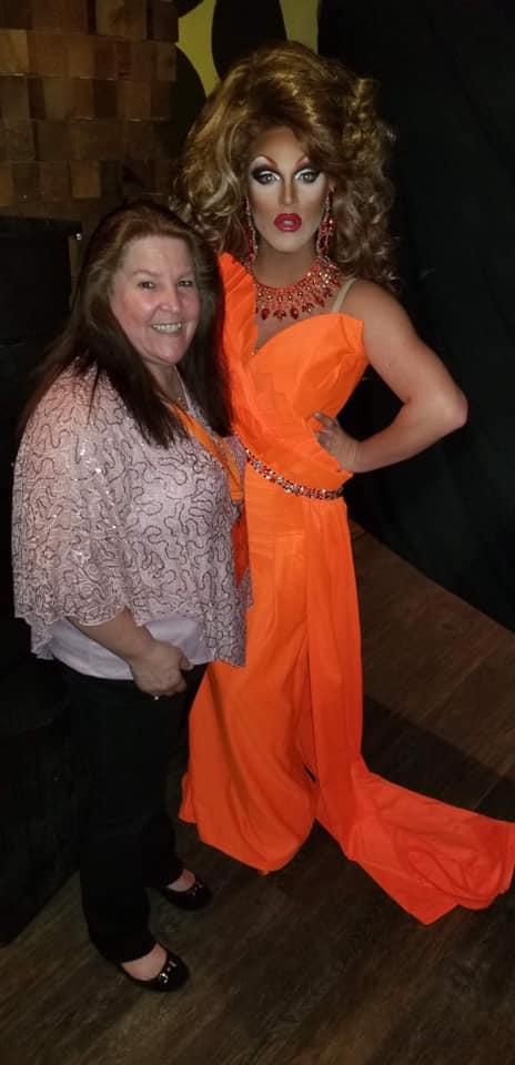 Valerie's Mom and Valerie Valentino | Miss Gay Ohio America | Axis Nightclub (Columbus, Ohio) | 7/19-7/21/2019