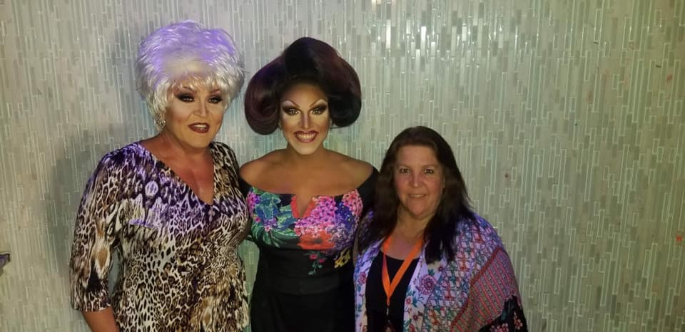 Denise Russell, Valerie Valentino and Valerie's Mom | Miss Gay Ohio America | Axis Nightclub (Columbus, Ohio) | 7/19-7/21/2019