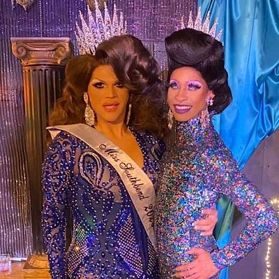 SMALL Ava Aurora Foxx and Sabrina Caprice Heartt | Miss Southbend | Southbend Tavern (Columbus, Ohio) | 1/26/2020