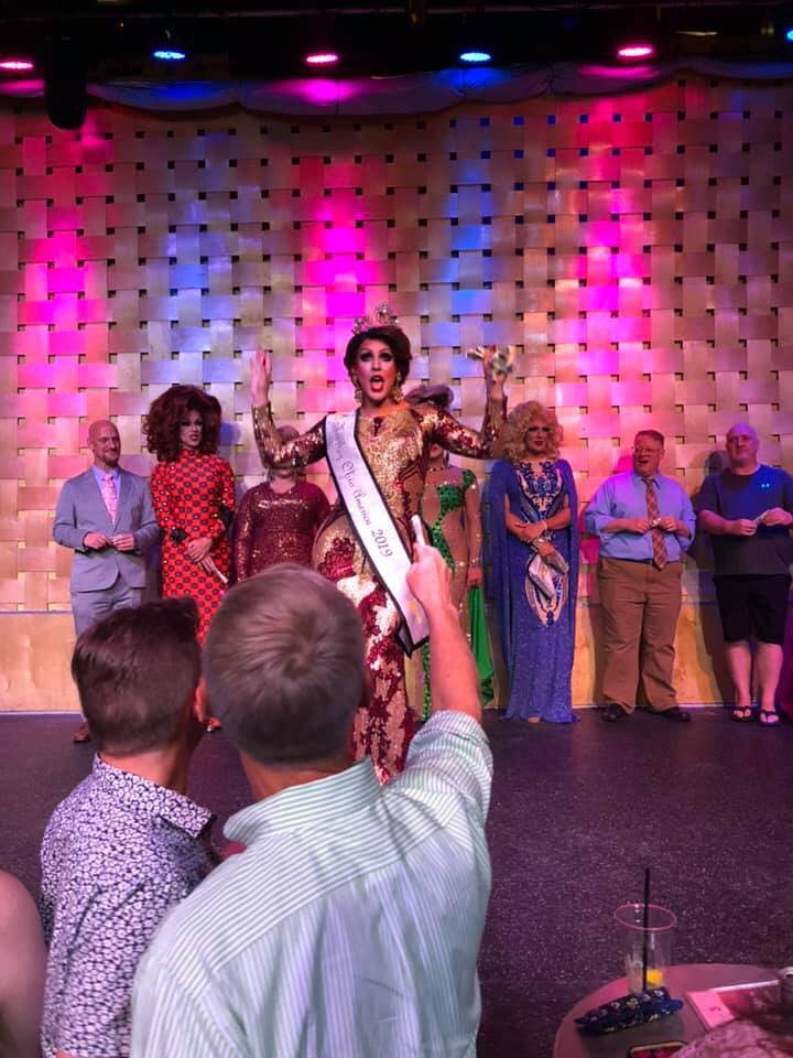 Courtney Kelly in her crowning number | Miss Gay Ohio America | Axis Nightclub (Columbus, Ohio) | 7/19-7/21/2019