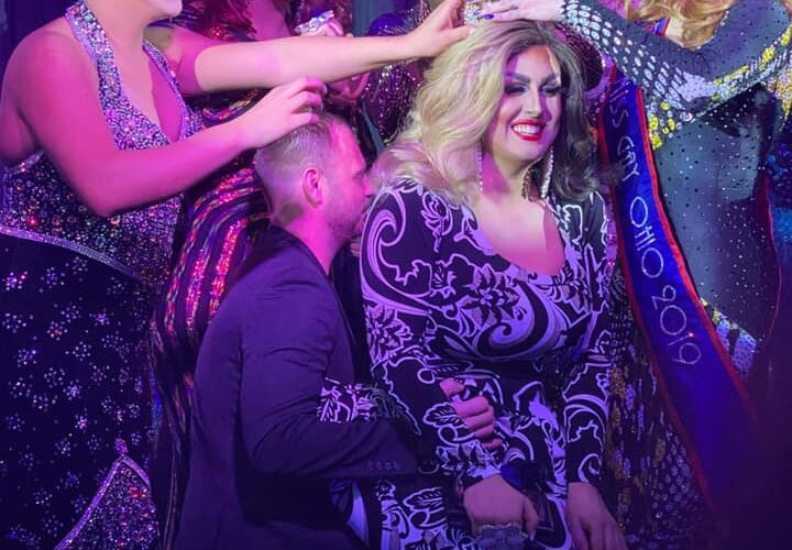 Scarlett Kelly being crowned | Miss Gay Heart of Ohio America | Boscoe's (Columbus, Ohio) | 1/11/2020