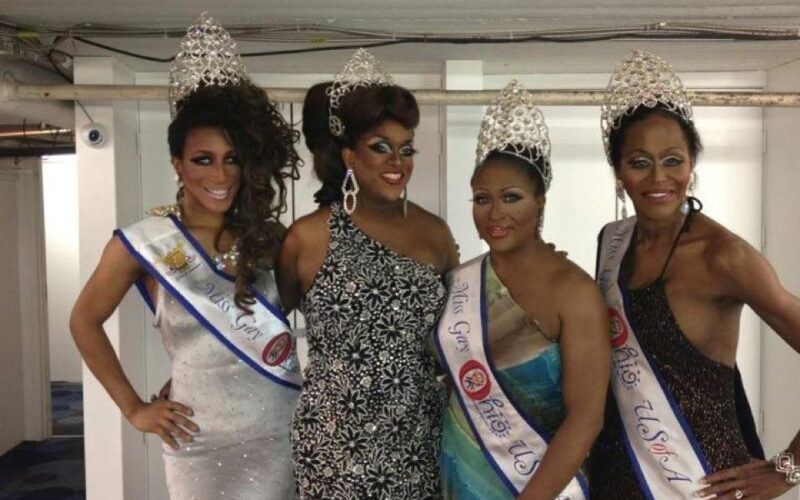 Nadia Nyce, Alana Reign, Leah Halston and Misty Knight | Miss Gay Dayton USofA | Masque (Dayton, Ohio) | 10/21/2012