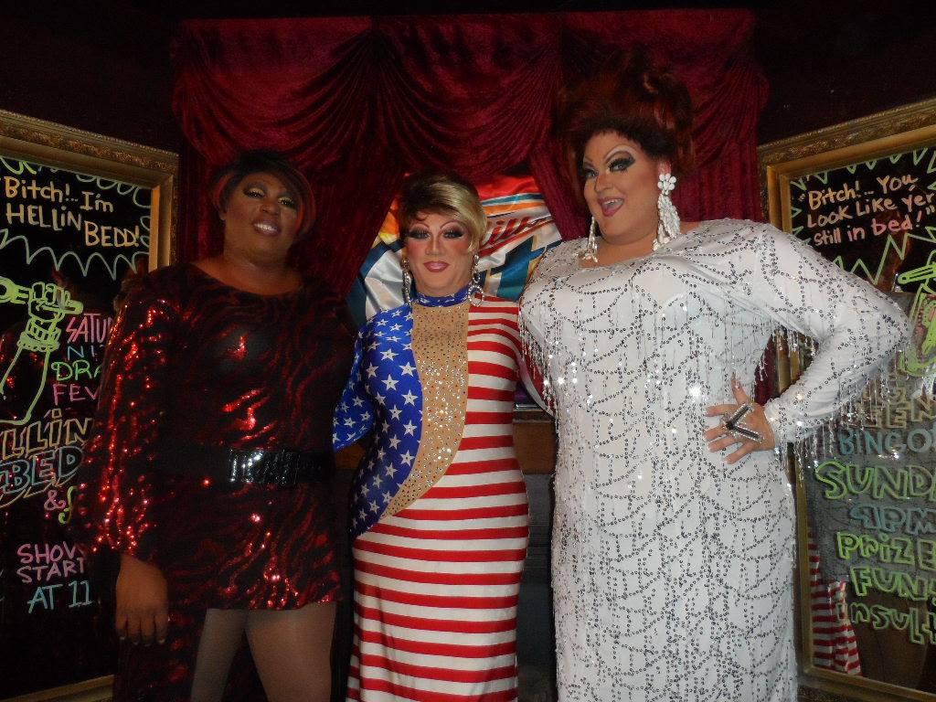 Blahze Brown, Hellin Bedd and Vivian Von Brokenhymen | Cavan Irish Pub (Columbus, Ohio) | 7/4/2015