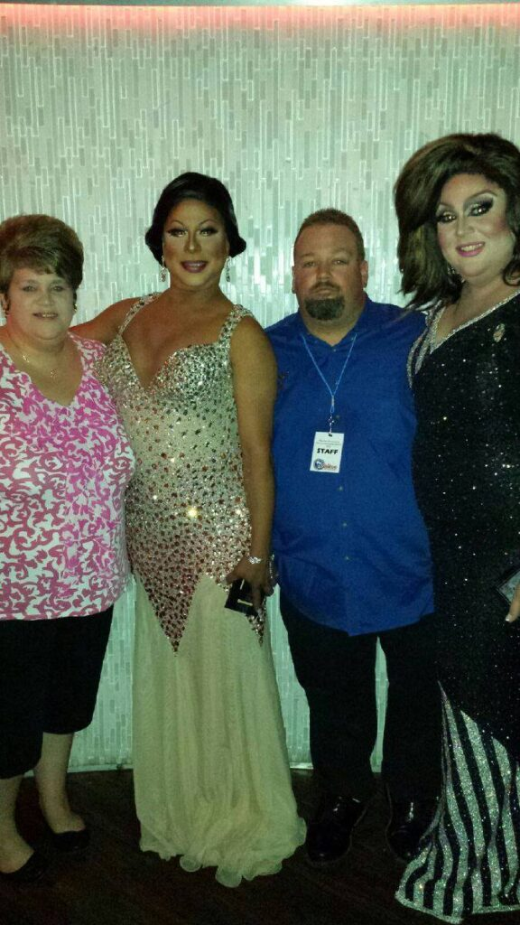 Laura Allen, Rosario Garcia, William Allen and Shelby Bottoms | Miss Gay Ohio America | Axis Nightclub (Columbus, Ohio) | 7/12-7/13/2014