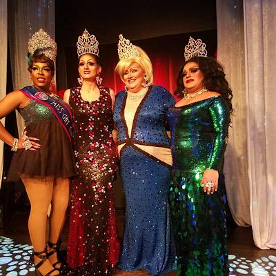 SMALL Mikayla Denise, Sheridan Steele, Tori Daniels and Stacy Z. Candy | Miss Gay Miami Valley Ohio | MJ's on Jefferson (Dayton, Ohio) | 1/26/2019