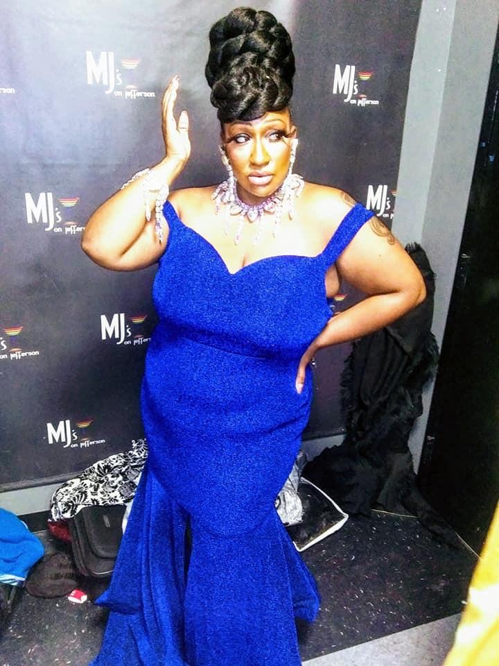 Gaia Naturi   Miss Gay Miami Valley Ohio   MJ's on Jefferson (Dayton, Ohio)   11/2/2019