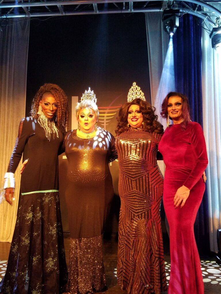 Baby Girl, Tori Daniels, Tina Hightower and Sheridan Steele | Miss Gay Miami Valley Ohio | MJ's on Jefferson (Dayton, Ohio) | 12/9/2017