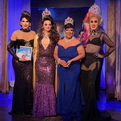 SMALL Mimi Sharp, Sheridan Steele, Gaia Naturi and Soy Queen | Miss Gay Miami Valley Ohio | MJ's on Jefferson (Dayton, Ohio) | 11/2/2019