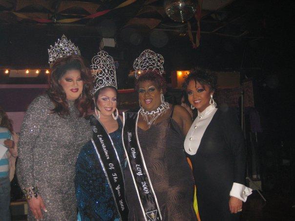 Nina West, Amber Stone, Deja Dellataro and Maya Douglas | Ohio Entertainer of the Year, F.I. | 5/17/2009