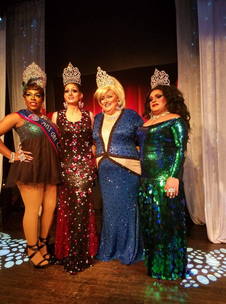 Mikayla Denise, Sheridan Steele, Tori Daniels and Stacy Z. Candy | Miss Gay Miami Valley Ohio and Miss Gay Gem City Ohio | MJ's on Jefferson (Dayton, Ohio) | 1/26/2019