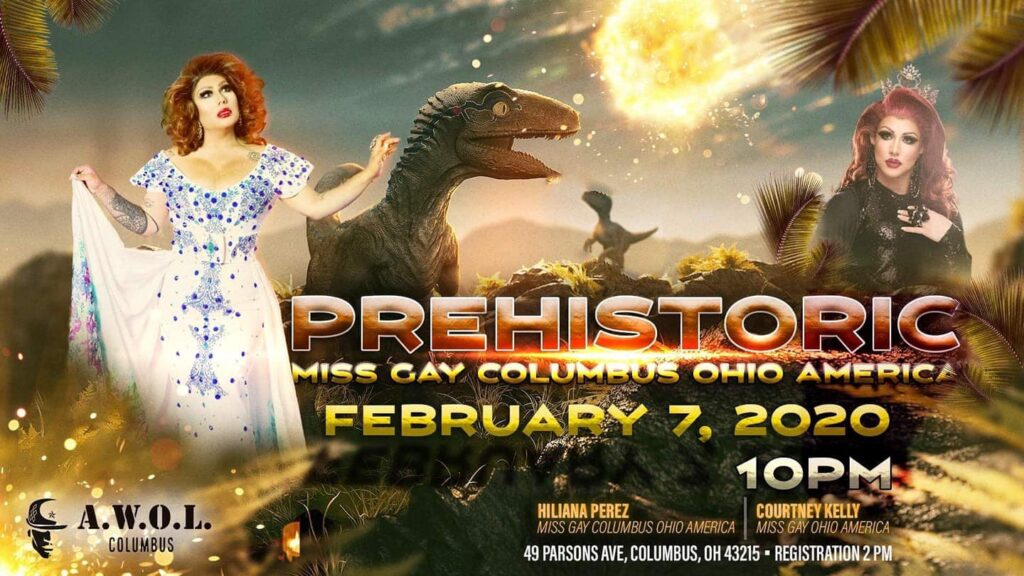 Ad | Miss Gay Columbus America | A.W.O.L. (Columbus, Ohio) | 2/7/2020