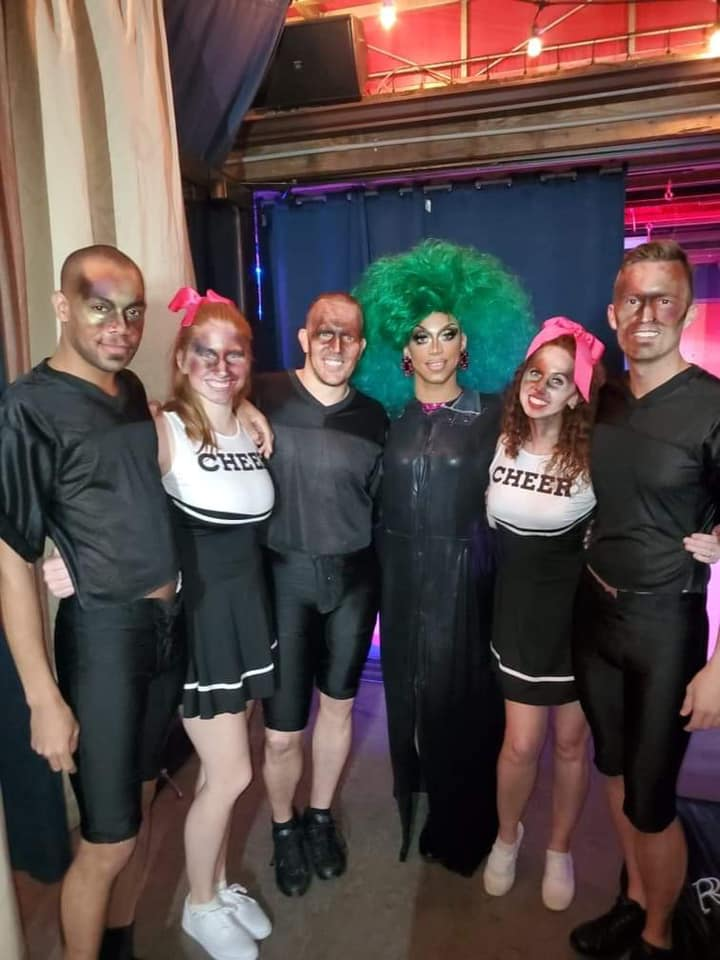 Yasmine Kelly and her backup dancers | Miss Gay Columbus America | A.W.O.L. (Columbus, Ohio) | 2/7/2020