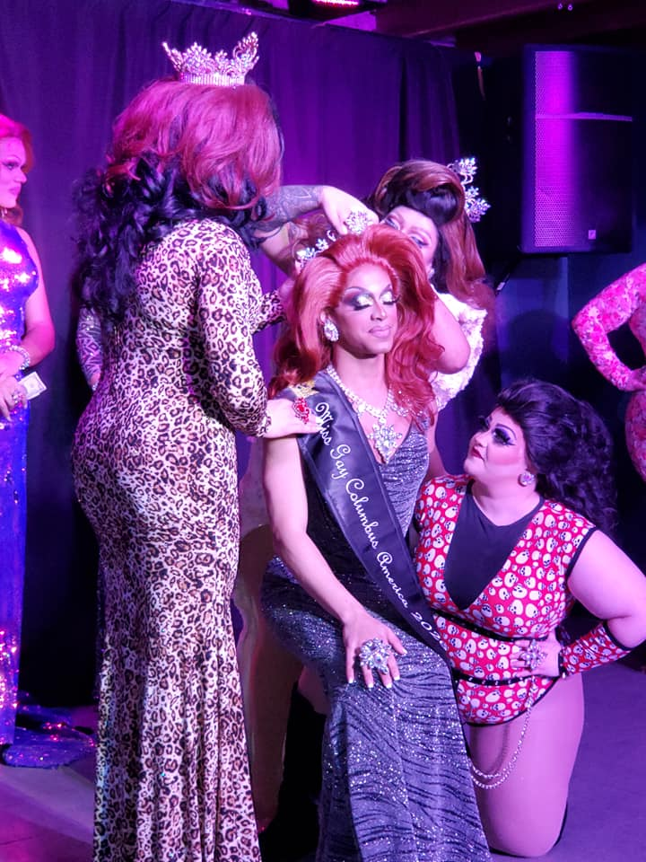 Crowning of Yasmine Kelly | Miss Gay Columbus America | A.W.O.L. (Columbus, Ohio) | 2/7/2020