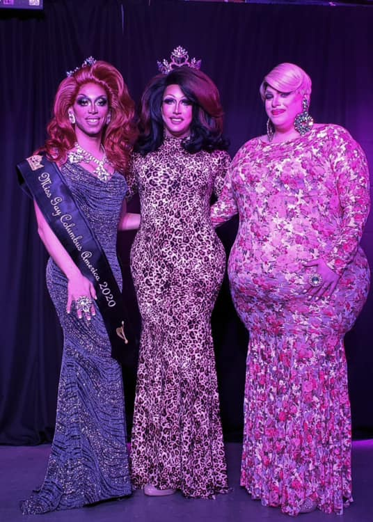 Yasmine Kelly, Courtney Kelly and Mystical Divine | Miss Gay Columbus America | A.W.O.L. (Columbus, Ohio) | 2/7/2020