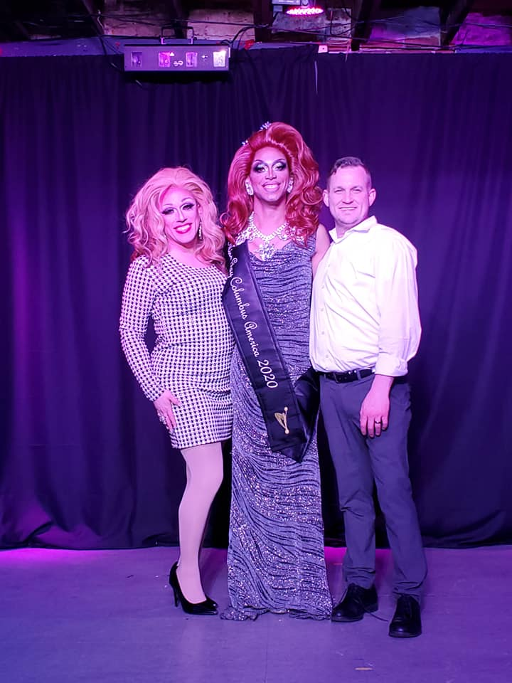 Mary Nolan, Yasmine Kelly and Chad | Miss Gay Columbus America | A.W.O.L. (Columbus, Ohio) | 2/7/2020