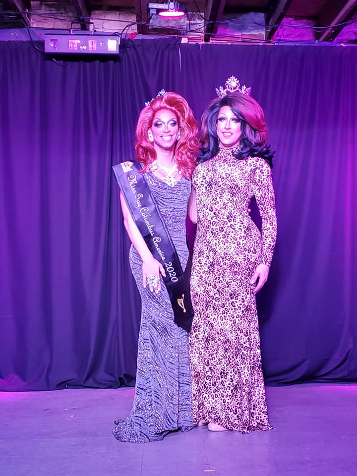 Yasmine Kelly and Courtney Kelly | Miss Gay Columbus America | A.W.O.L. (Columbus, Ohio) | 2/7/2020