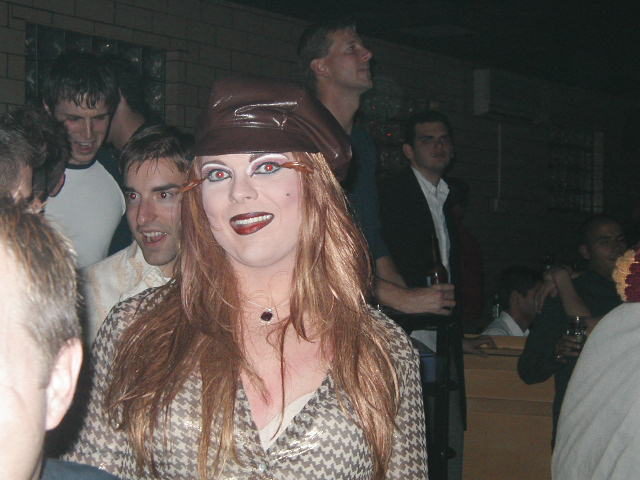 Mary Margaret O'Malley | Church with Billy Brandt | Havana Video Lounge (Columbus, Ohio) | 10/20/2002