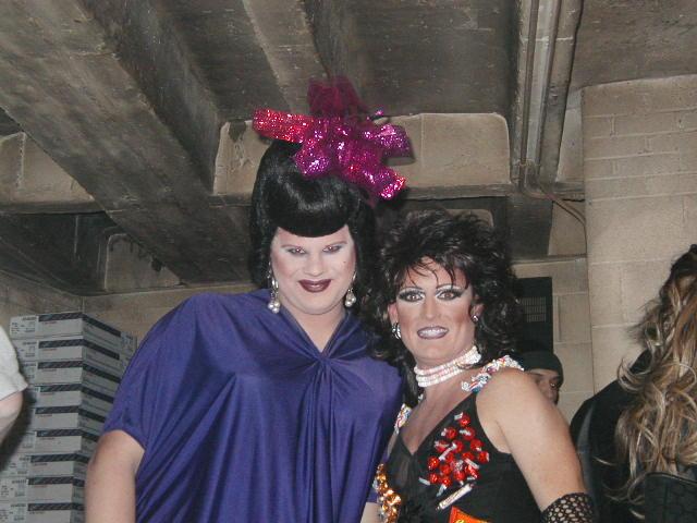 Nina West and Monique Devereaux | Nightmare on High Street | Havana Video Lounge (Columbus, Ohio) | 10/24/2002
