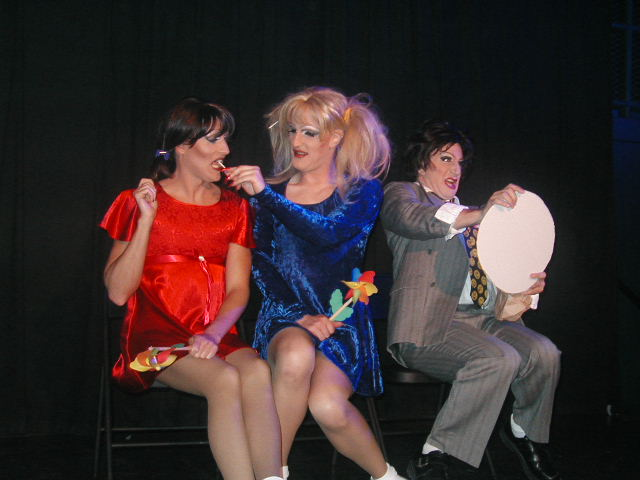 Monique Devereaux, Beverly Ford and Alexis Fontaine | Hedda Lettuce Show | Axis Nightclub (Columbus, Ohio) | 5/12/2002