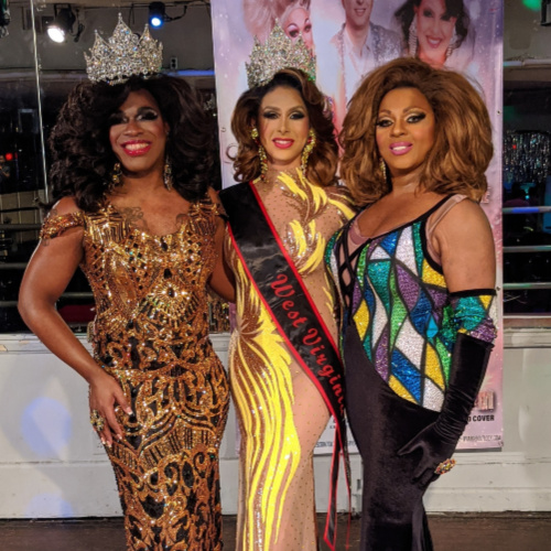 SMALL Kira Kennedy Chanel, Kassandra Hylton and Sapphire Mylan | Broadway (Charleston, West Virginia) | 2/1/2020