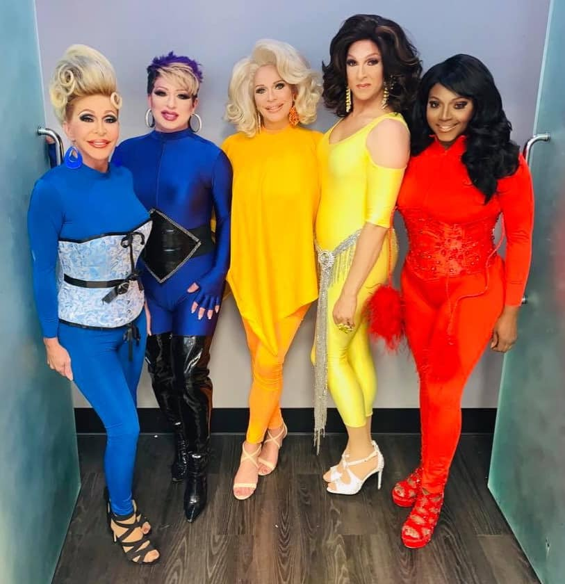 Danielle Hunter, Nina DiAngelo, Tiffany T. Hunter, Atheena Voce and Dominique Sanchez | Hamburger Mary's (St. Louis, Missouri) | June 2020