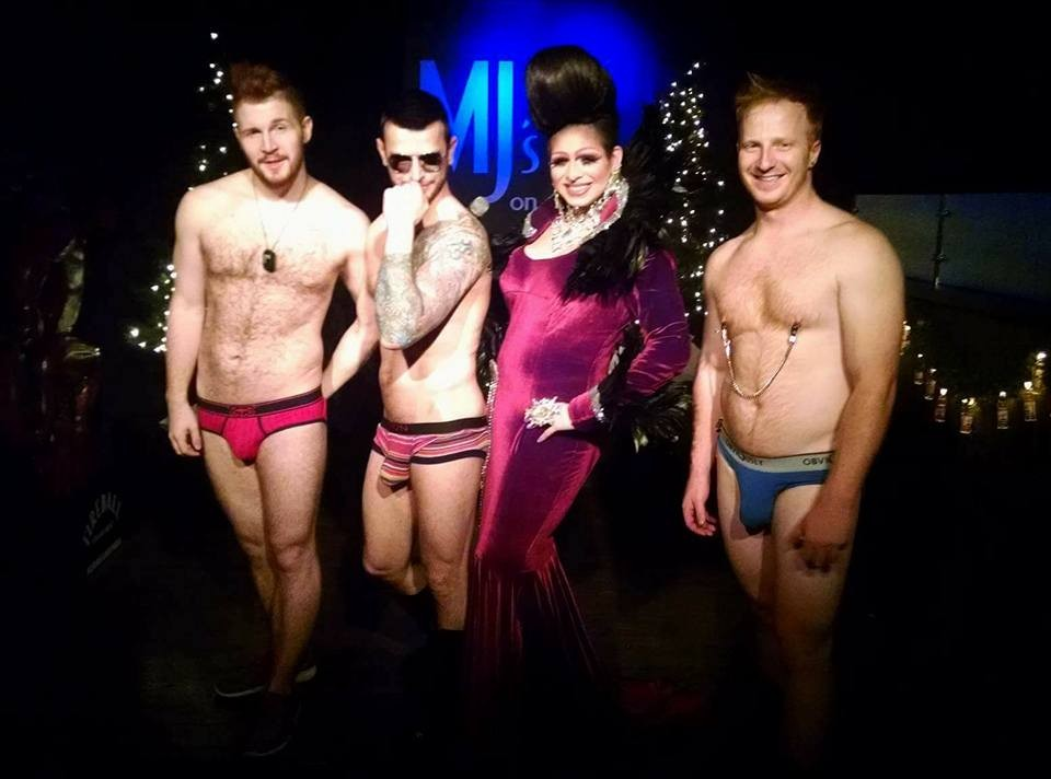 Redd Valentine, Johnny Dangerously, Jade Sexton and Ryan Dreamsicle | MJ's on Jefferson (Dayton, Ohio) | December 2015