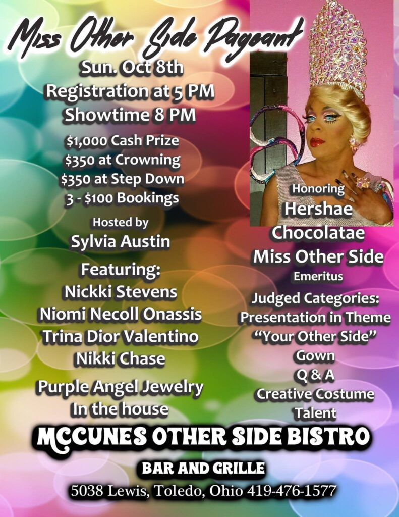 Ad | Miss Other Side | McCune's Other Side Bistro (Toledo, Ohio) | 10/8/2017