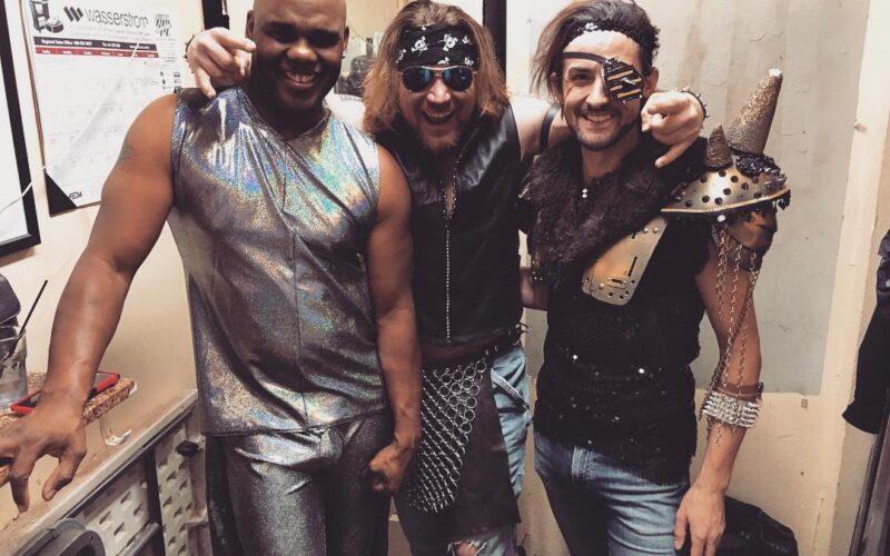 Christian Lorez Fabian, Adonis Casanova and Luka Ashley Carter | Southbend Tavern (Columbus, Ohio) | November 2017