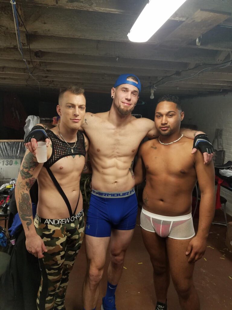 Gunner Scout, Trey Russell and Charming   Georgjz419 Food & Spirits (Toledo, Ohio)   January 2018