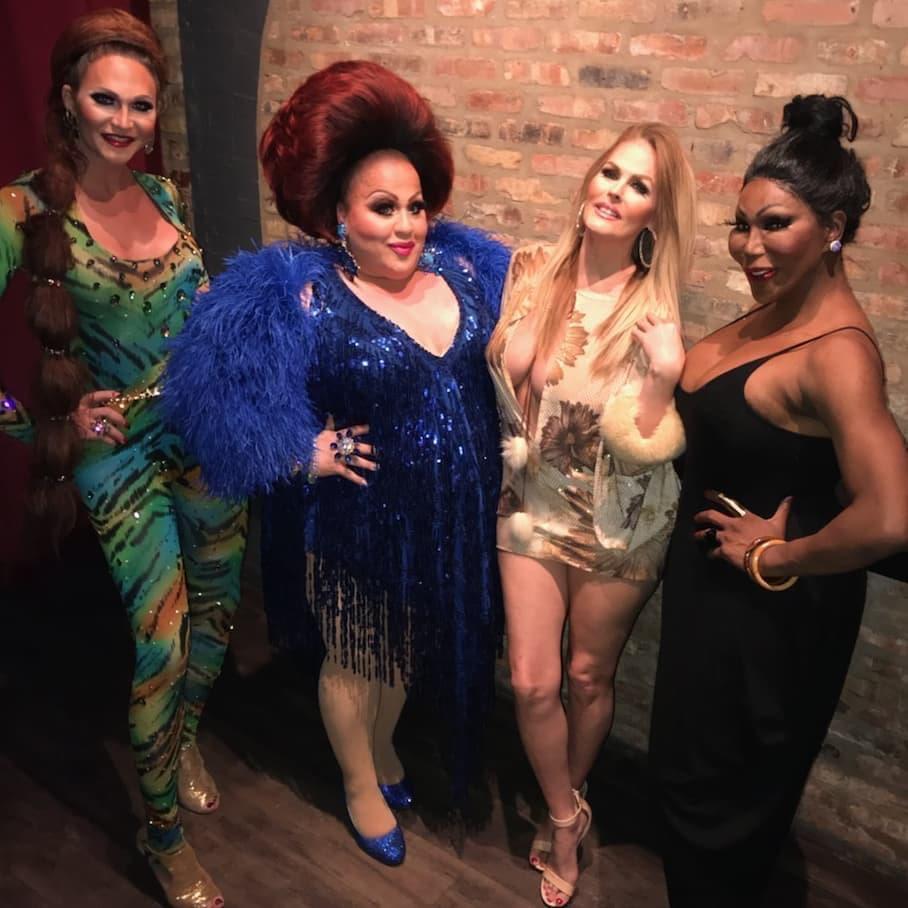 Kinley Preston, Mercedes Tyler, Mimi Marks and Mokha Montrese | Progress Bar (Chicago, Illinois) | January 2019