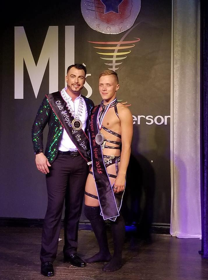 Gunner Scout and Colin David | Mr. Ohio Stripper of the Year | MJ's on Jefferson (Dayton, Ohio) | 9/1/2018